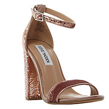 Buy Steve Madden Carrson Block Heeled Sandals Online at johnlewis.com