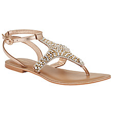 Buy John Lewis Sianne Diamanté Toe Post Sandals Online at johnlewis.com