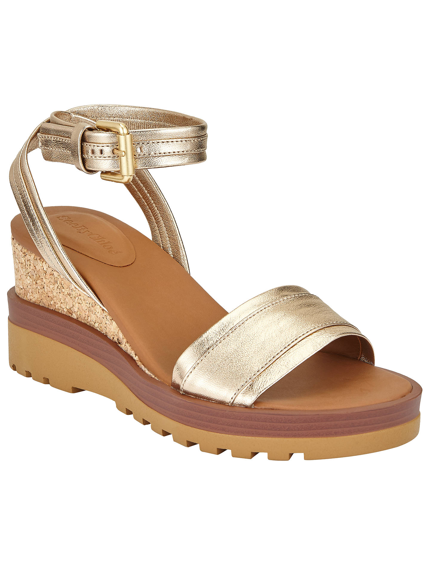 ae99b4320308 Buy See by Chloé Robin Wedge Heeled Sandals