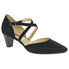 Buy Gabor Frederica Cross Strap Court Shoes Online at johnlewis.com