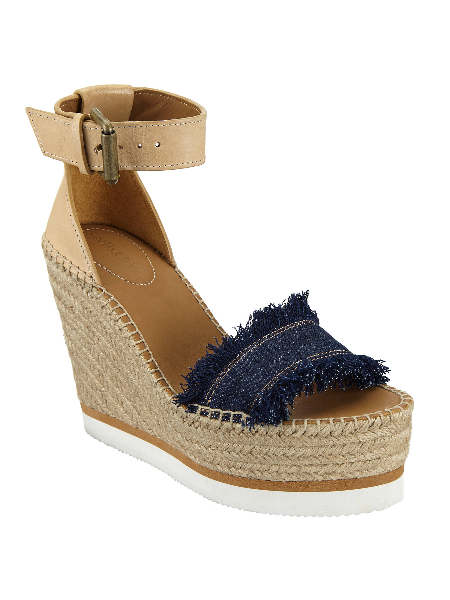 b4d95102aa5 Buy See by Chloé Glyn Wedge Heeled Espadrille Sandals