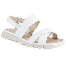 Buy John Lewis Designed for Comfort Lucy Cross Strap Sandals Online at johnlewis.com