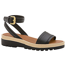 Buy See by Chloé Robin Flatform Sandals, Black Online at johnlewis.com