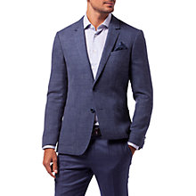 Buy Tommy Hilfiger Virgin Wool-Blend Slim Fit Blazer, Indigo Online at johnlewis.com