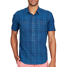 Buy Polo Ralph Lauren Short Sleeve Shirt, Dark Indigo Online at johnlewis.com