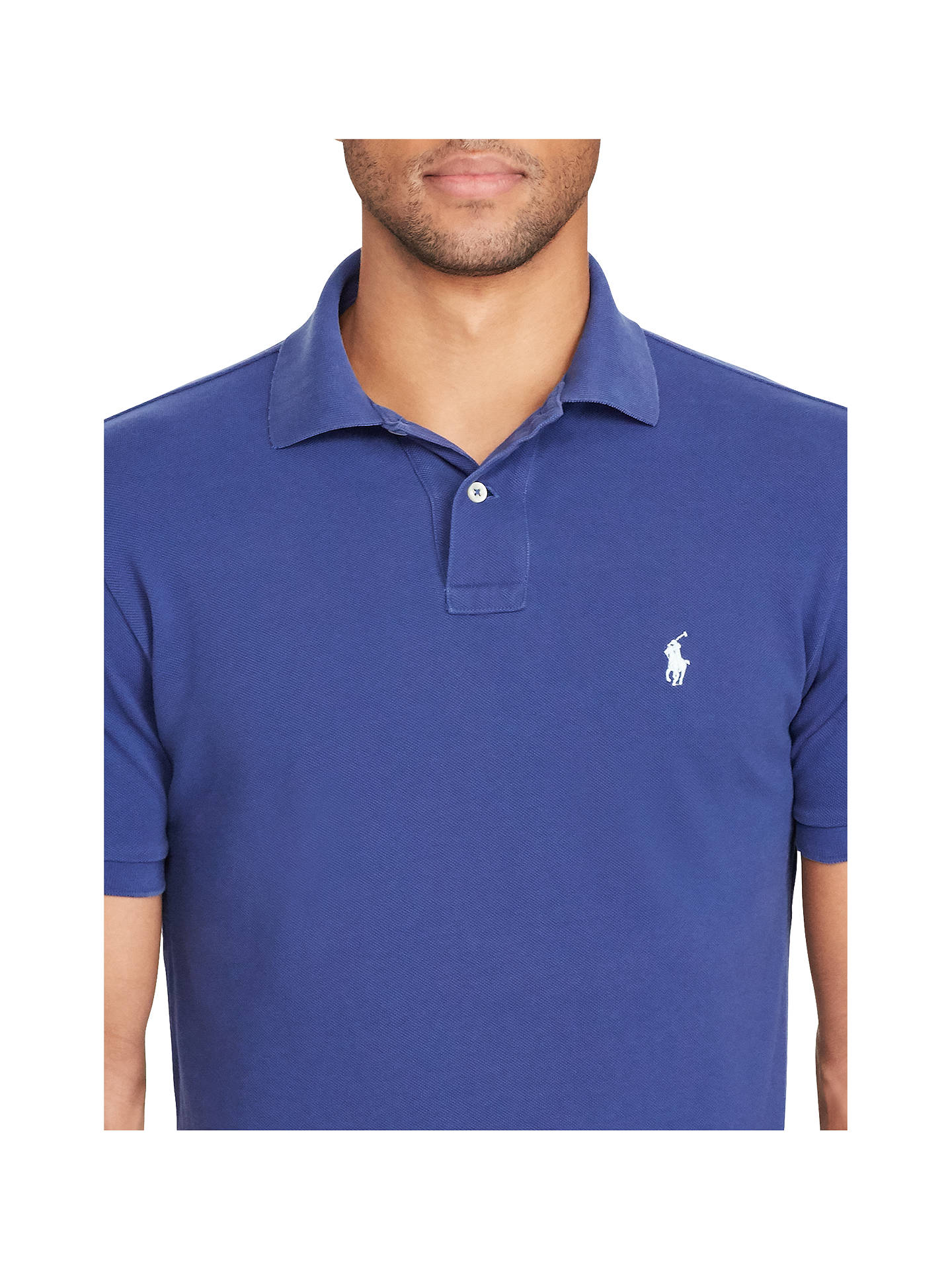 d2a86f9ff Polo Ralph Lauren Custom Fit Polo Shirt at John Lewis   Partners