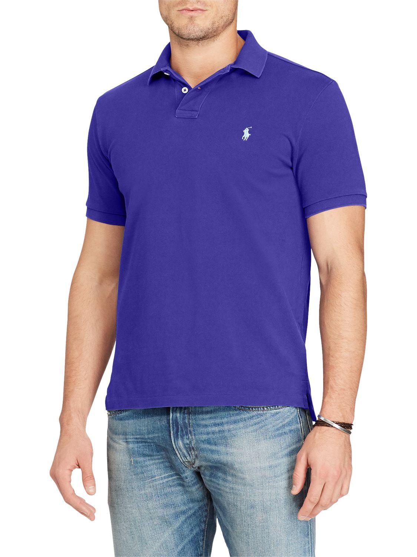 2c81d155 Polo Ralph Lauren Slim Fit Short Sleeve Polo Shirt at John Lewis & Partners
