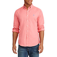 Buy Polo Ralph Lauren Standard Fit Button-Down Poplin Shirt Online at johnlewis.com