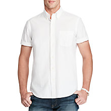 Buy Polo Ralph Lauren Slim Fit Short Sleeve Cotton Shirt Online at johnlewis.com