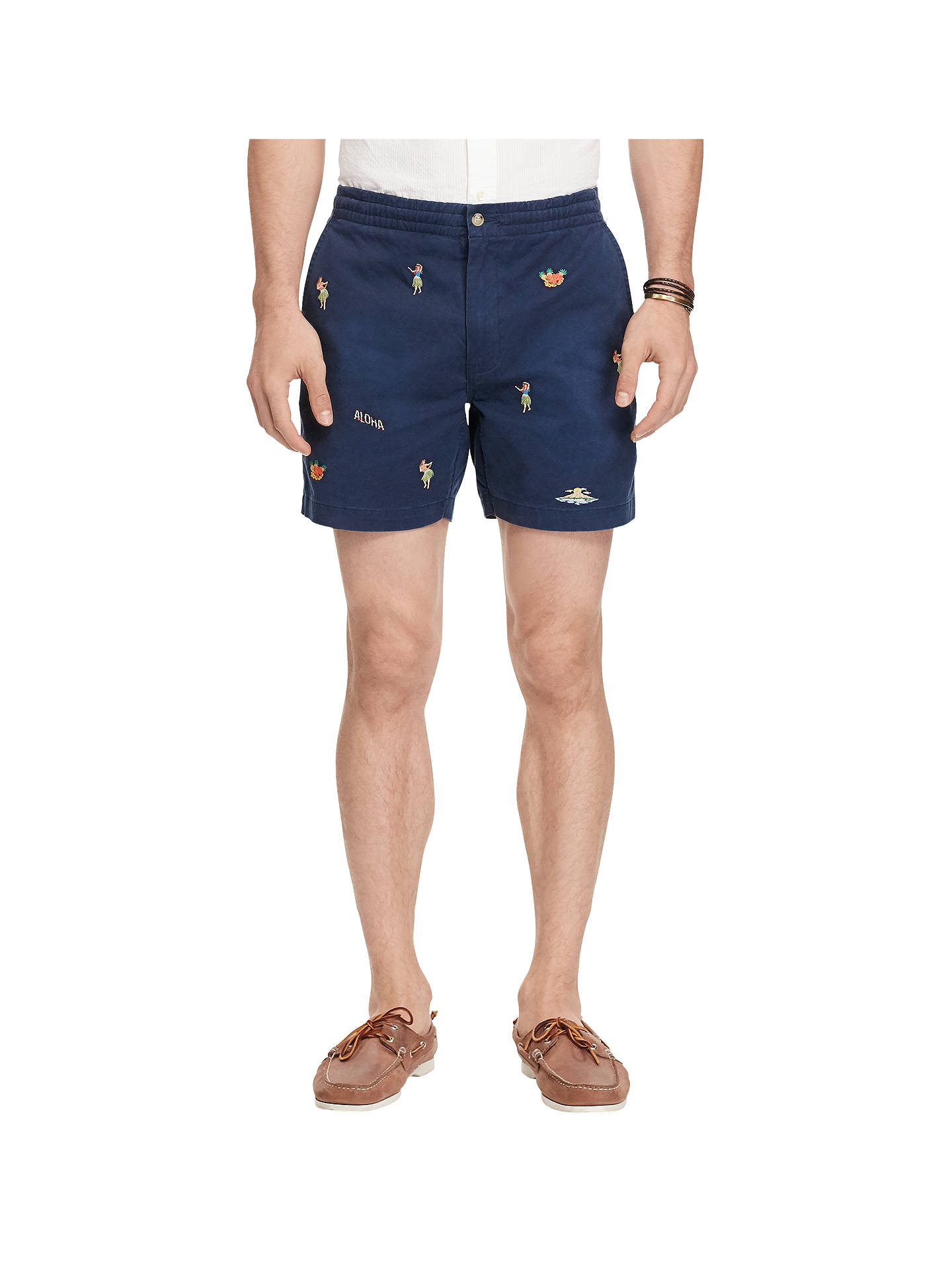 385d73857 Buy Polo Ralph Lauren Classic Fit Hawaiian Polo Prepster Shorts
