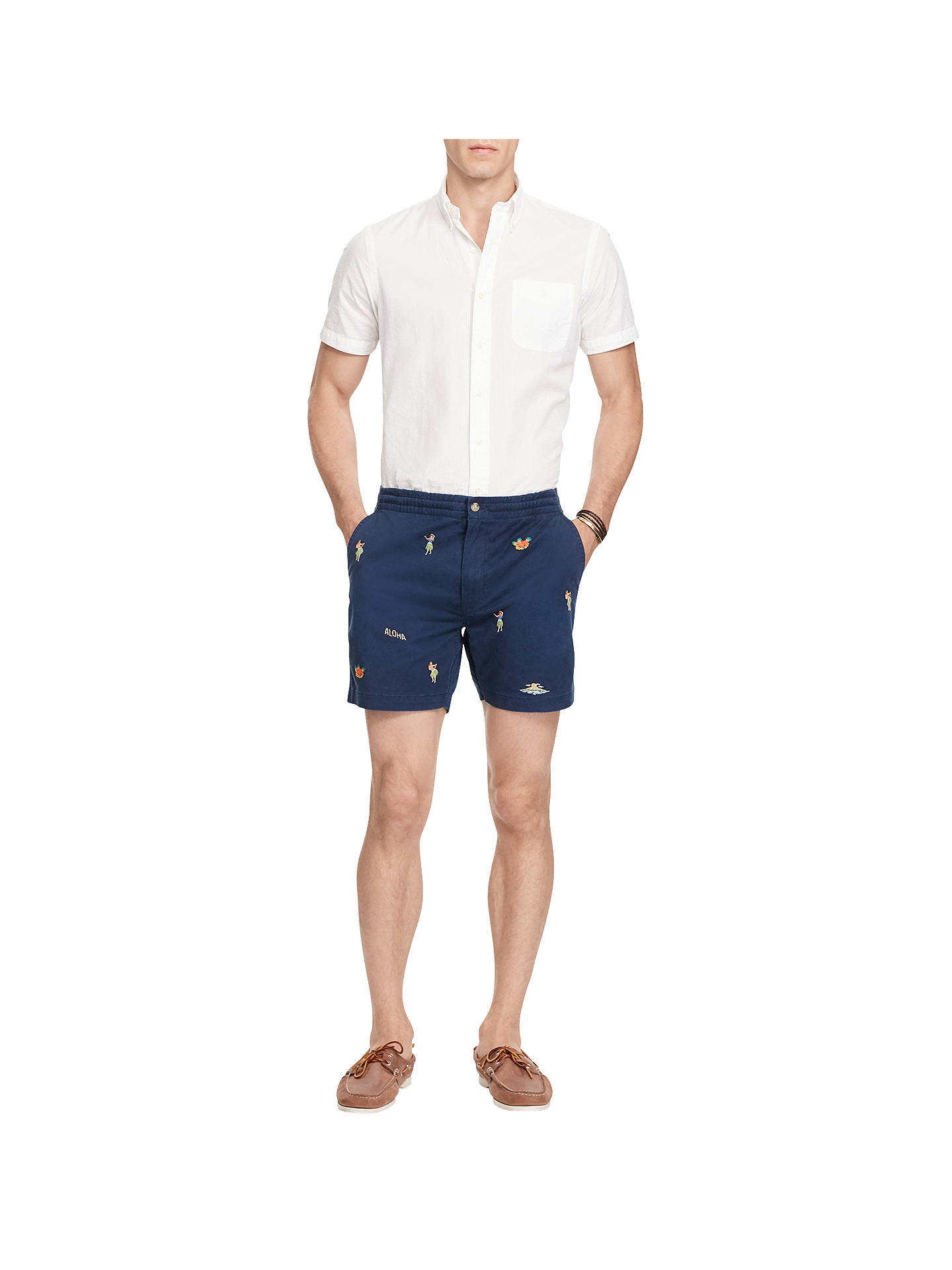 f175067bf ... Buy Polo Ralph Lauren Classic Fit Hawaiian Polo Prepster Shorts