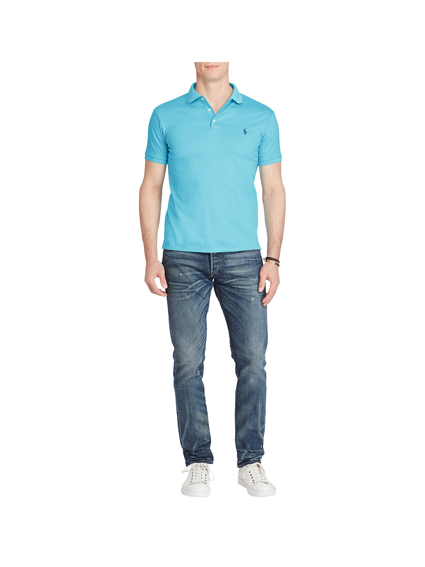 At Lauren Slim Touch Soft Ralph Polo Lewis Shirt John Fit WHEDY9I2