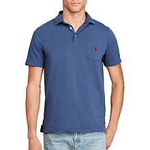 Buy Polo Ralph Lauren Short Sleeve Custom Fit Pocket Polo Shirt Online at johnlewis.com
