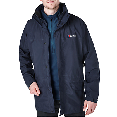 Berghaus Cornice III GORE-TEX Interactive Waterproof Hooded Jacket, Blue