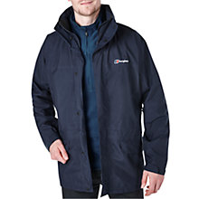Buy Berghaus Cornice III GORE-TEX Interactive Waterproof Hooded Jacket, Blue Online at johnlewis.com