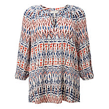 Buy Joie Addie F Silk Blouse, Porcelain Online at johnlewis.com