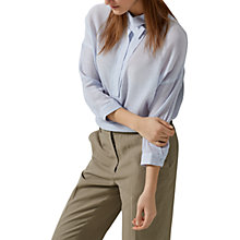 Buy Selected Femme Augusta Shirt, Xenon Blue Online at johnlewis.com