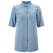 Buy Gerry Weber Denim Shirt, Light Blue Online at johnlewis.com