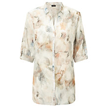 Buy Gerry Weber 3/4 Sleeve Printed Shirt, Multi Online at johnlewis.com