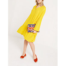 Buy AND/OR Sienna Dress, Yellow Online at johnlewis.com