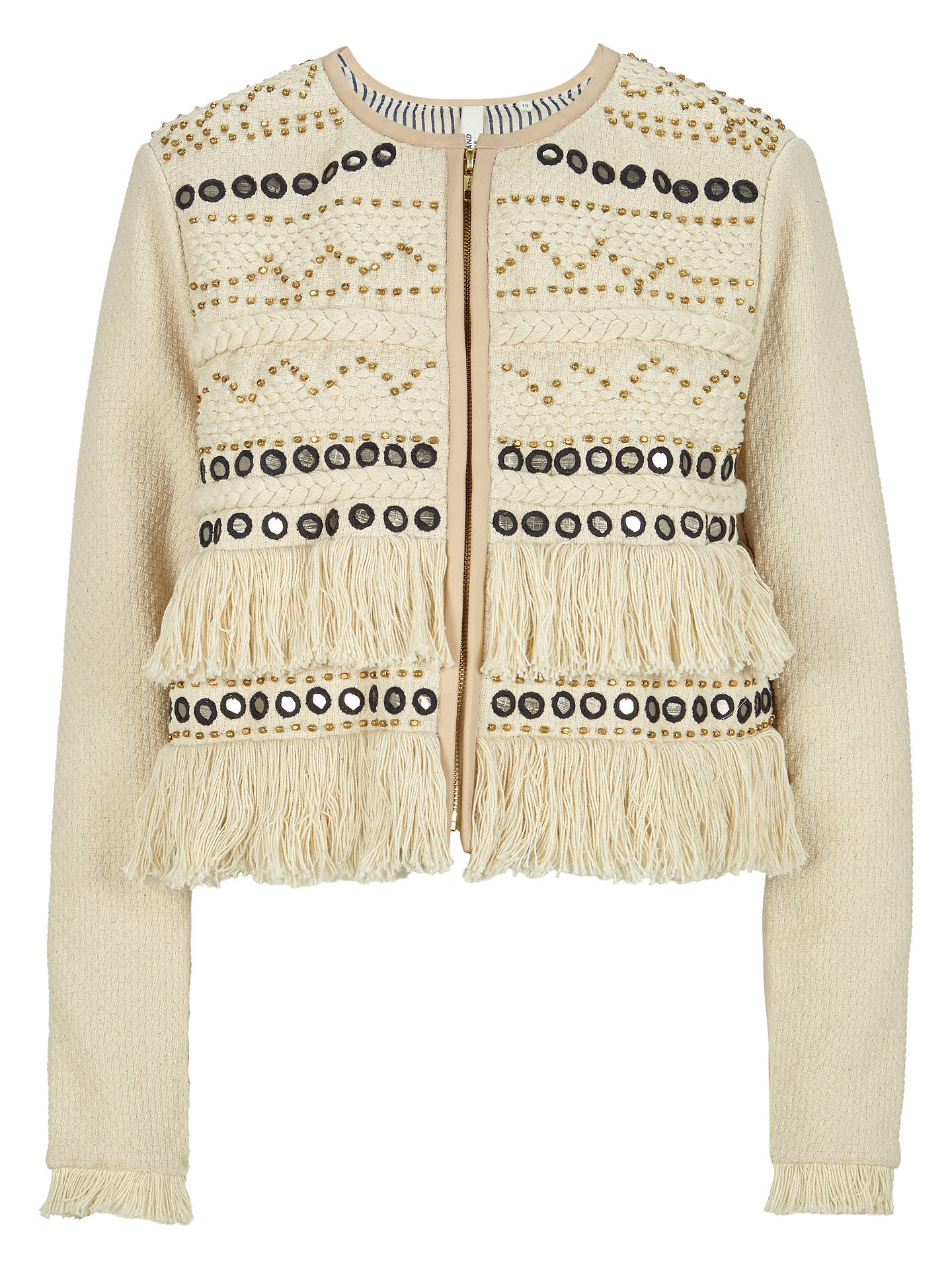 BuyAND/OR Bella Jacket, Cream, 8 Online at johnlewis.com