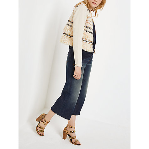 Buy AND/OR Bella Jacket, Cream Online at johnlewis.com