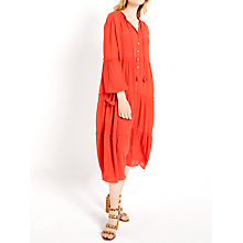 Buy AND/OR Midi Sienna Dress, Soft Red Online at johnlewis.com