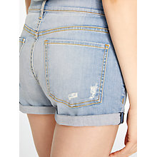 Buy AND/OR Melrose Denim Shorts, Blue Online at johnlewis.com