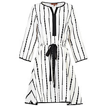 Buy Jolie Moi Geo Printed Drawstring Tunic Dress Online at johnlewis.com
