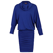 Buy Jolie Moi Batwing Sleeve Tunic Dress, Royal Blue Online at johnlewis.com