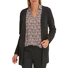 Buy Betty & Co. Boiled Wool Cardigan, Black/Grey Online at johnlewis.com