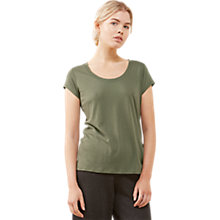 Buy Jigsaw Pima Cotton Blend T-Shirt Online at johnlewis.com