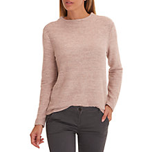 Buy Betty & Co. Long Sleeved Top, Apricot-Silver Online at johnlewis.com