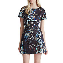Buy French Connection Cornucopia Cotton Dress, Black/Multi Online at johnlewis.com