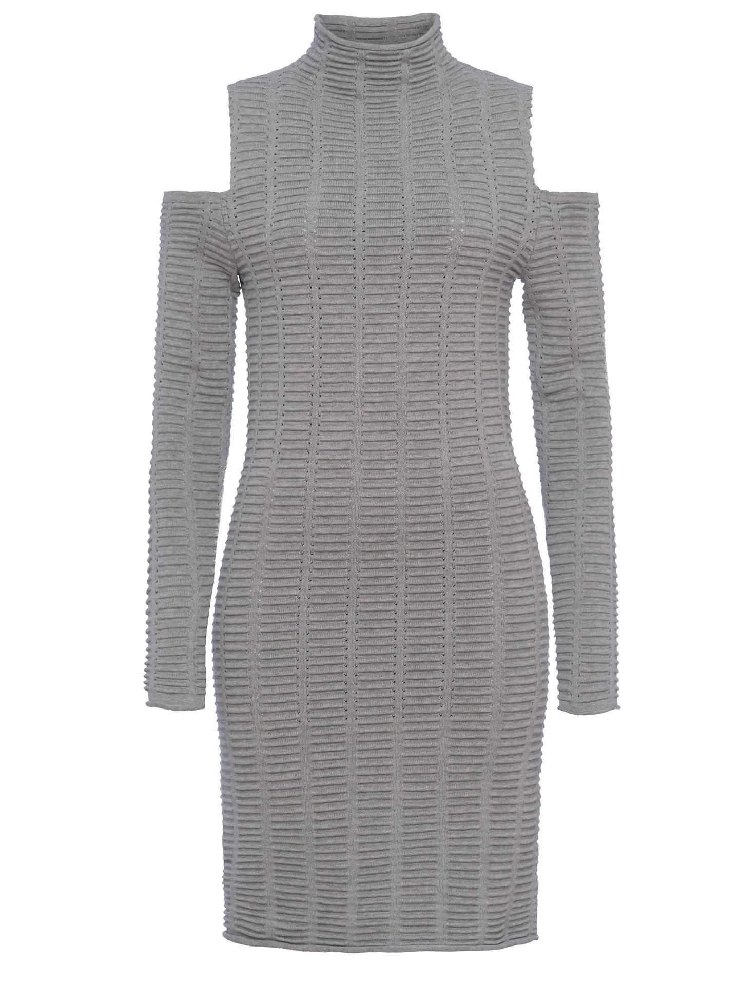 1c46f8db112 ... Buy French Connection Mozart Ladder Dress, Light Grey, 6 Online at  johnlewis.com