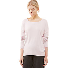 Buy Jigsaw Slouchy Rib Hem Top Online at johnlewis.com
