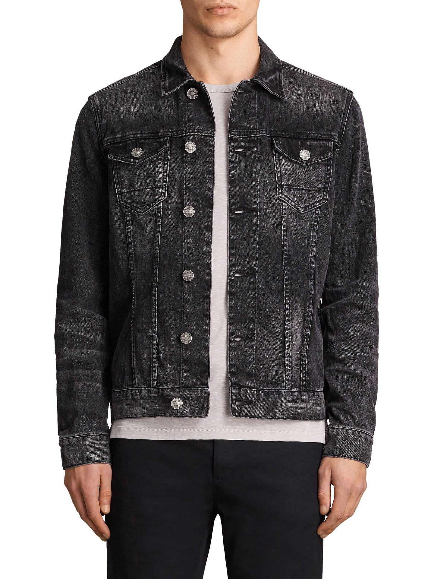 33f624f02a Buy AllSaints Tocander Denim Jacket
