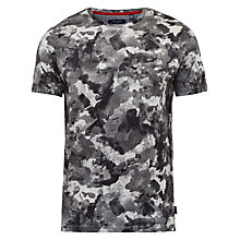 Buy Ted Baker Ruben Camouflage Cotton T-Shirt Online at johnlewis.com