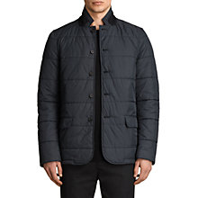Buy AllSaints Peralta Quilted Blazer Jacket, Ink Navy Online at johnlewis.com