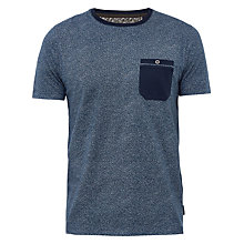 Buy Ted Baker Motor Mouline Cotton Crew Neck T-Shirt Online at johnlewis.com