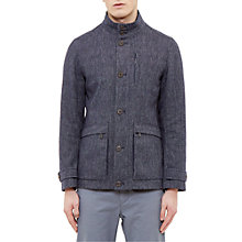 Buy Ted Baker Sheldon Removable Quilted Lining Jacket, Navy Online at johnlewis.com