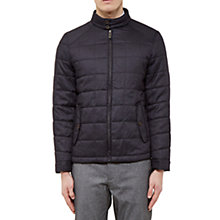 Buy Ted Baker Rocket Quilted Jacket, Grey Online at johnlewis.com