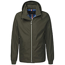 Buy Tommy Hilfiger Darrel Hooded Jacket, Khaki Online at johnlewis.com