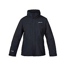Buy Berghaus Hillwalker Waterproof Women's Jacket, Black Online at johnlewis.com