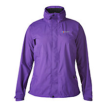 Buy Berghaus Light Hike Waterproof Women's Jacket, Purple Online at johnlewis.com