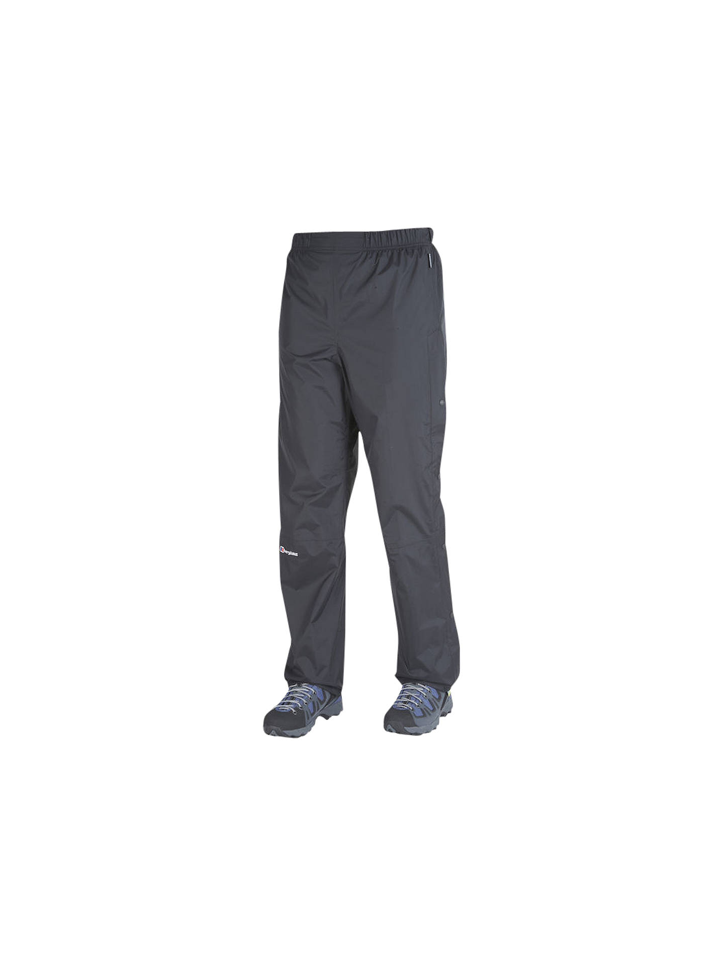 BuyBerghaus Deluge Waterproof Over-Trousers, Black, 8 Online at johnlewis.com