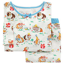 Buy Cath Kids Children's Pet Party Jersey Pyjamas, Cream Online at johnlewis.com