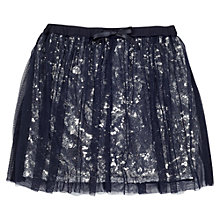 Buy Jigsaw Girls' Tulle Party Skirt, Navy Online at johnlewis.com