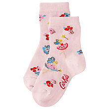 Buy Cath Kidston Children's Little Fairy Socks, Pink Online at johnlewis.com
