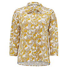 Buy White Stuff Bloom Shirt, Camomile Yellow Online at johnlewis.com